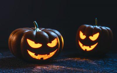 Cigar-Themed Halloween Decor